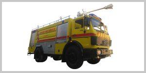 خودروهای آتش نشانی نیمه سنگین فرودگاهی