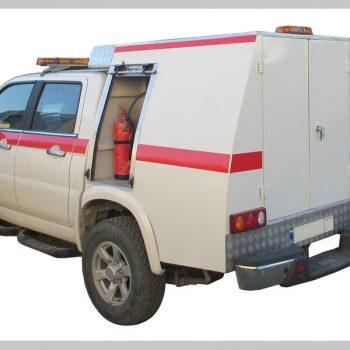 خودروی امداد و نجات پیشرو