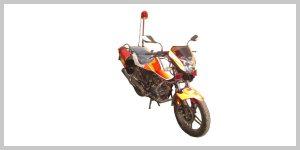 موتور سیکلت آتش نشانی