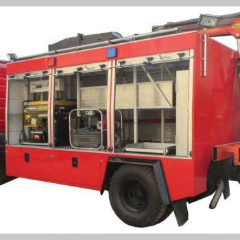 خودروی امداد و نجات و آوار برداری- سبک( نوررسان )