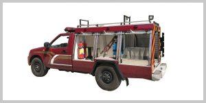 خودروی آتش نشانی پیشرو