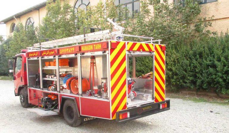 خودروی آتش نشانی نیمه سنگین