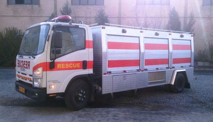 خودروی امداد و نجات نیمه سنگین