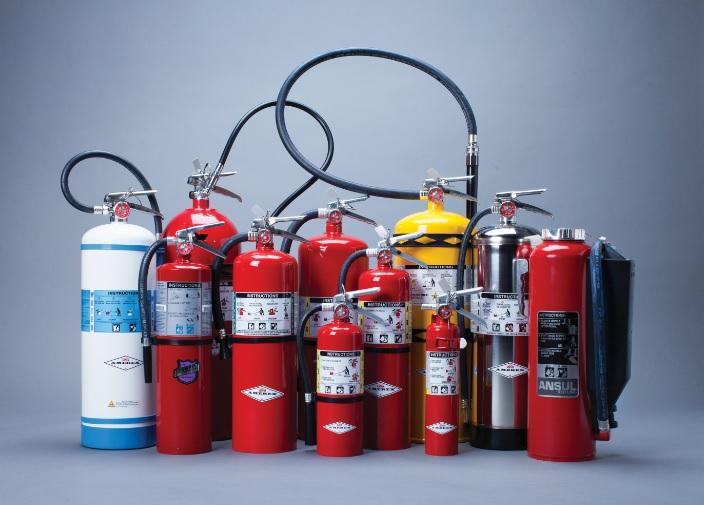 شناخت روش های بكارگيری کپسول آتش نشانی