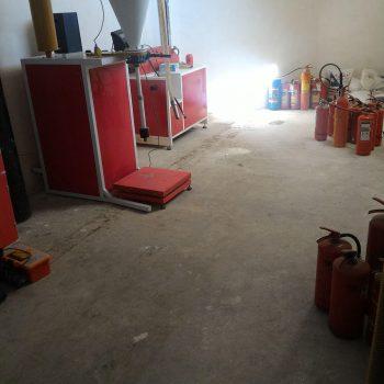 شارژ و فروش کپسول آتش نشانی