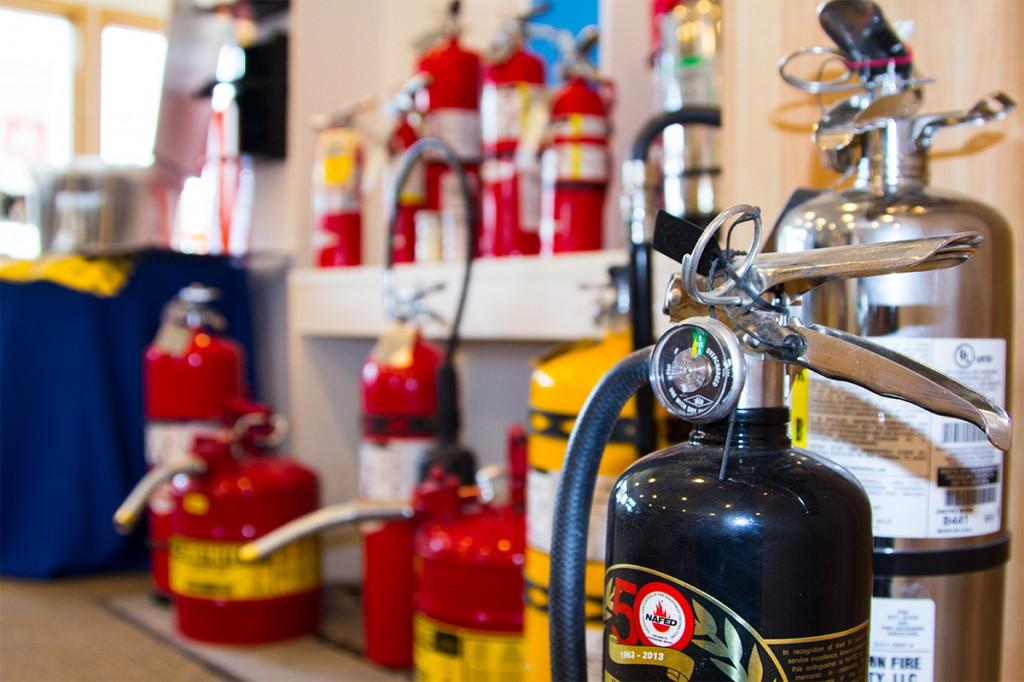 اصول شارژ کپسول های آتش نشانی